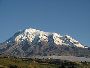 Afbeelding van het Chimborazo gebergte