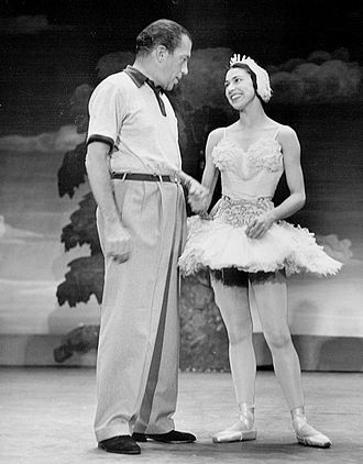 Margot Fonteyn - At a rehearsal for The Ed Sullivan Show in 1953 (at the time known as Toast of the Town)
