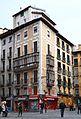 Edificis de la plaça consistorial, Pamplona.JPG