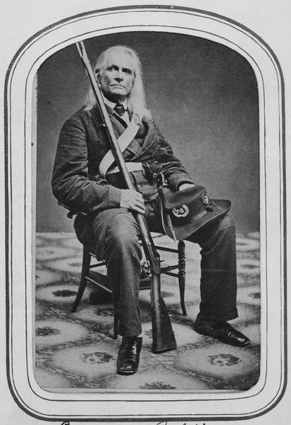 Edmund Ruffin. Fired the 1st shot in the Late War. Killed himself at close of War., ca. 1861 - NARA - 530493