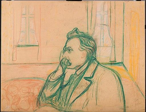Edvard Munch - Friedrich Nietzsche - MM.M.00254 - Munch Museum