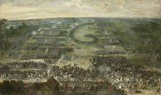 Een veldslag Rijksmuseum SK-A-1555