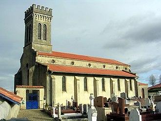 Aubagnan - The church of Aubagnan