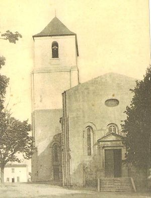 Royan - Image: Eglise Saint Pierre de Royan en 1918