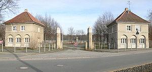 Eilenriedestadion - Entrance to the Eilenriedestadion