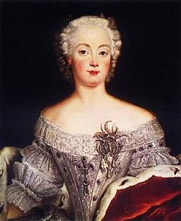 Elisabeth Christine (um 1740)
