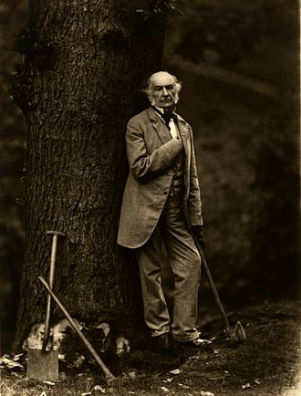 National Liberal Club - Former Prime Minister William Ewart Gladstone was the club's first President. A keen feller of trees in his spare time, his axe is still on display in the club smoking room today, along with a chest made from an oak tree cut down by Gladstone.