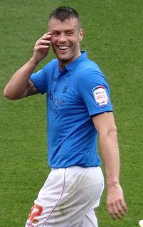 Elliott Ward British footballer