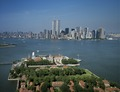 Ellis Island complex and lower Manhattan view, pre-September 11, 2001 LCCN2011630917.tif