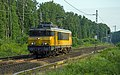 Elten NS loc 1741 rijdt over tegenspoor stapvoets richting Emmerich (14301529477).jpg