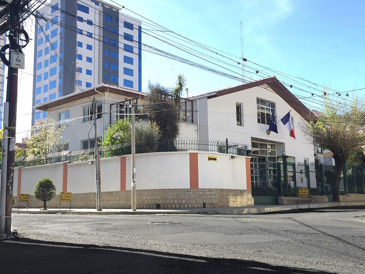 ambassade de france en bolivie wikip dia. Black Bedroom Furniture Sets. Home Design Ideas
