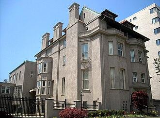 Arthur Lee, 1st Viscount Lee of Fareham - Lee's former residence in Washington, D.C.
