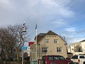 Finland–Iceland relations - Image: Embassy of Finland in Reykjavik