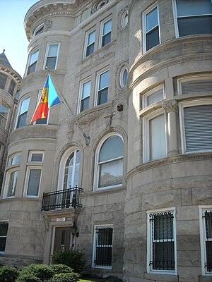 Embassy of Moldova, Washington, D.C. -  Moldovan embassy