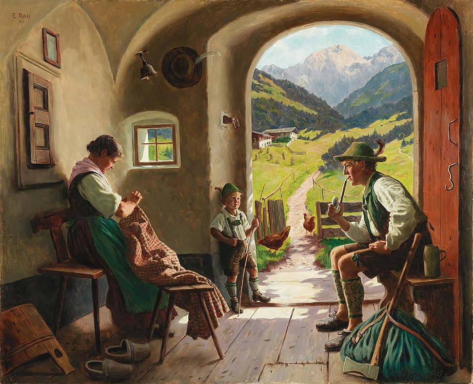 Emil Rau - A Summer's Day in Tyrol