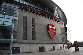 Emirates Stadium, Arsenal's home ground.jpg