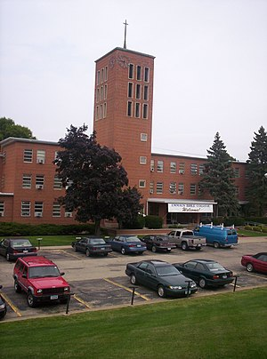 Emmaus Bible College (Iowa) - The front of Emmaus Bible College