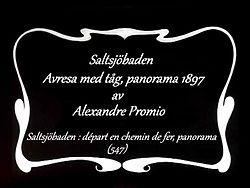 Fil:   En rejse på Saltsjö-banen 1897. webm