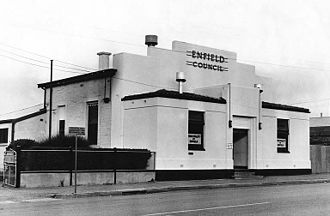 City of Enfield - Second Enfield council chamber, Regency Road