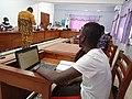 Enseigner et évaluer avec wikipedia à l'UAC-Bénin 01.jpg