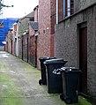Entry between Rathcool Street and Rathdrum Street, Belfast - geograph.org.uk - 712193.jpg