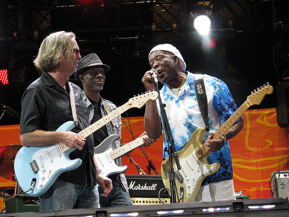 Eric Clapton, Keb Mo and Buddy Guy 26Jun2010