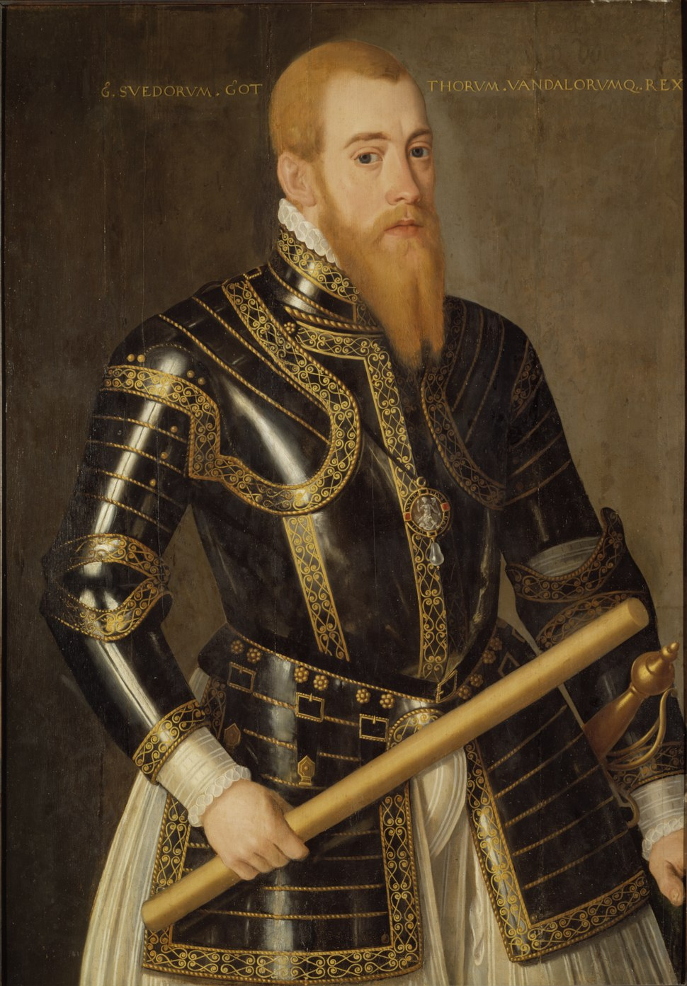 Erik XIV (1533-1577) (Domenicus Verwilt) - Nationalmuseum - 18413