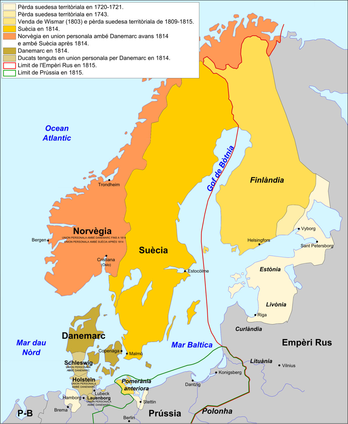 suecia dinamarca mapa