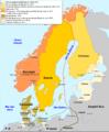 Escandinàvia en 1815.png