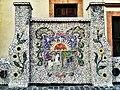 Escudo municipal de Stgo. de Querétaro en el Jardín de los Platitos.jpg