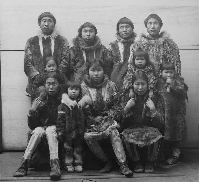File:Eskimo group - NARA - 523819.tif
