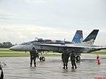 Esquadrilha da Fumaça 60 anos - Pirassununga - Show Aéreo - Hornet CF-18 Canadian Demonstration Team - panoramio.jpg