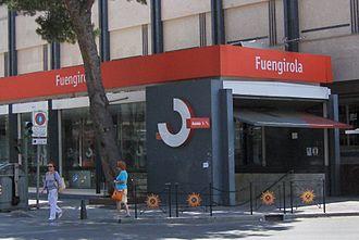 Cercanías Málaga - Estación de Fuengirola.
