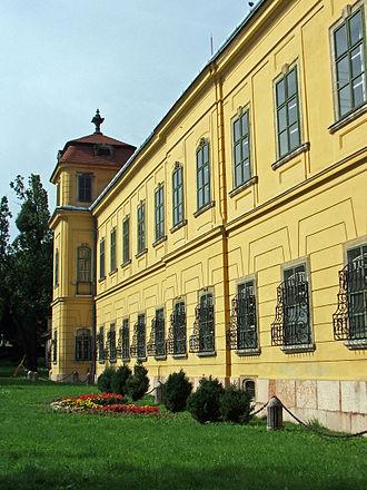 Tata, Hungary - Esterházy palace