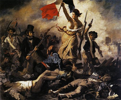 Eugène Delacroix - Liberty Leading the People (28th July 1830) - WGA6177