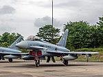 Eurofighter Typhoon EF2000 - Luftwaffe 30-87 - Vliegbasis Leeuwarden (27008664083).jpg