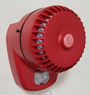 Fire alarm notification appliance A device to alert the user in a condition such as a fire