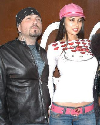 Tera Patrick - Patrick with then-husband Evan Seinfeld in November 2006