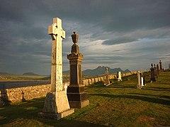 Evening at Melness Burial Ground (geograph 3572342).jpg