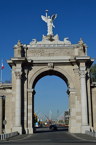 Exhibition Place - The Princes' Gates in 2015