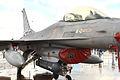 """F-16A Block 20 MLU (15106) de la Esquadra 301 """"Jaguares"""" de la Força Aérea Portuguesa (15535969391).jpg"""