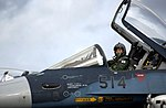 F-2A (514) of 3 Sqn prepares for take-off at Andersen Air Force Base during Cope North, -20 Jun. 2007 b.jpg