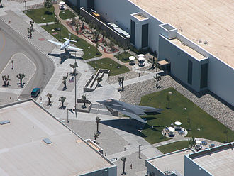 Skunk Works - Entrance plaza at the Skunk Works in Palmdale, California