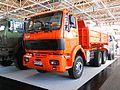 FAP 2640 heavy duty truck three-axle. front view. Spielvogel 2012.jpg
