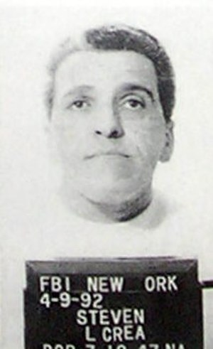 Lucchese crime family - FBI mugshot of Steven Crea