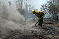 FEMA - 29925 - Firefighter Digs at Hot Spot.jpg