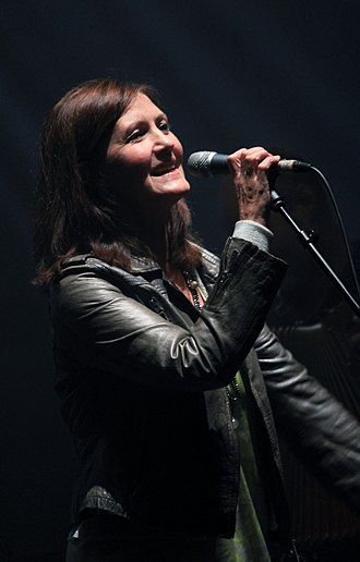 Karen Matheson - Matheson performing with Capercaillie in 2013