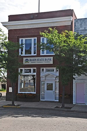 Geraldine, Montana - First National Bank of Geraldine