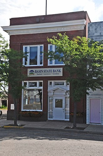 National Register of Historic Places listings in Chouteau County, Montana - Image: FIRST NATIONAL BANK OF GERALDINE; CHOUTEAU COUNTY, MONTANA
