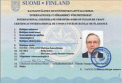 International Certificate of Competence - Wikipedia